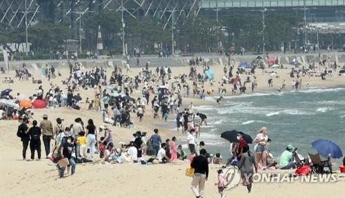 백신 접종 증가로 기대감 전국 해수욕장 7월 초 일제 개장