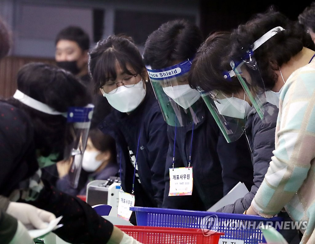 South Korean ruling party wins election after coronavirus triumph