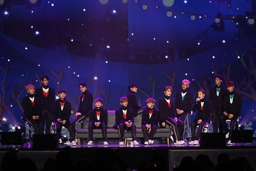 Seventeen bursts on the scene with new EP | Yonhap News Agency