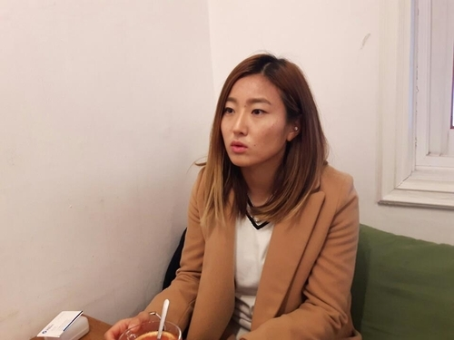 South Korean football player Cho So-hyun speaks in an interview with Yonhap News Agency in Seoul on Jan. 5, 2016. (Yonhap)