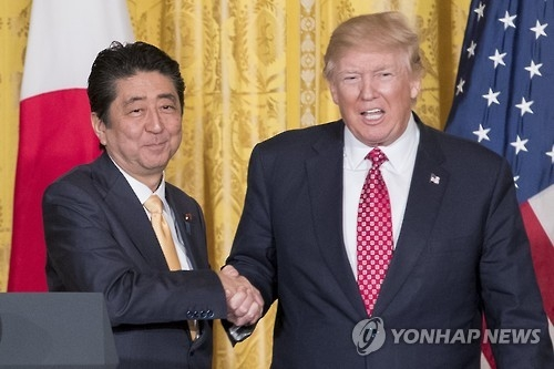(2nd LD) Trump says defending against N. Korean nuclear, missile threats 'very very high priority' - 1