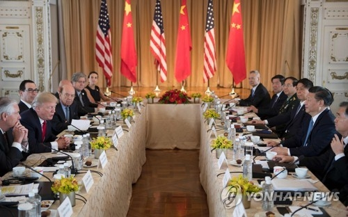 (4th LD) Trump, Xi agree to work together to convince N. Korea to curb nuclear program - 1