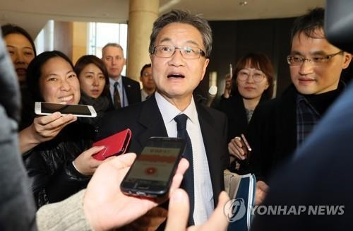 This file photo shows U.S. Special Representative for North Korea Policy Joseph Yun. (Yonhap)