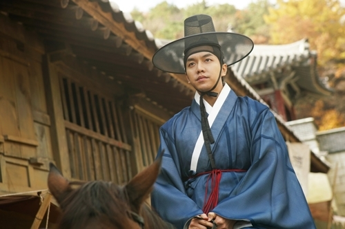 "This photo provided by CJ Entertainment is a still from ""The Princess and the Matchmaker."" (Yonhap)"
