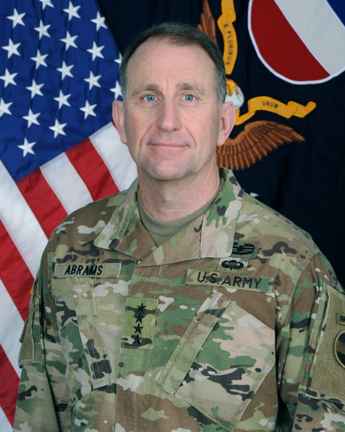 (2nd LD) Gen. Abrams takes office as new U.S. Forces Korea chief