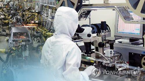 (LEAD) S. Korea's industrial output rebounds in October