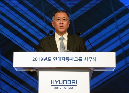 (3rd LD) Hyundai, Kia aim to sell 7.6 mln vehicles in 2019