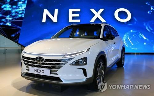 (LEAD) S. Korea to increase hydrogen-powered vehicles to 80,000 units by 2022 - 2