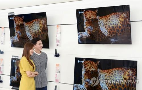 S. Korea falls behind China in world's LCD TV market