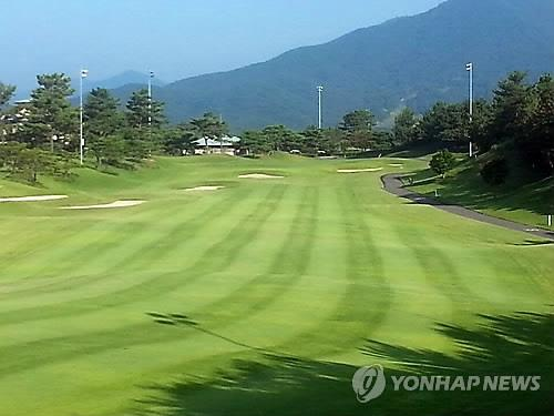 This file photo taken on Aug. 6, 2015, shows the Asiad Country Club in Busan, some 450 kilometers southeast of Seoul. Renamed LPGA International Busan, the course will host the LPGA Tour's BMW Ladies Championship from Oct. 24-27, 2019. (Yonhap)