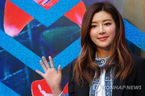 Actress Park Han-byul (Yonhap)