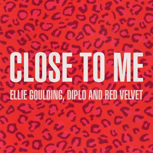 "This image provided by Universal Music shows a promotional image for Red Velvet's song collaboration with Ellie Goulding, ""Close to Me."" (Yonhap)"