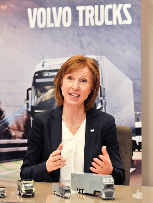 (LEAD) (Yonhap Interview) Volvo mulls electric trucks for S. Korea