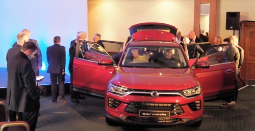 SsangYong to start selling Korando SUV in Europe in H2