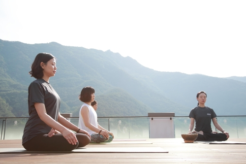 (Yonhap Feature) Wellness tourism offers holistic getaway from city life