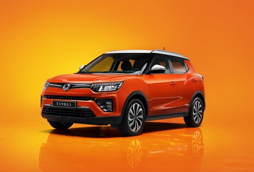 (LEAD) SsangYong Motor launches upgraded Tivoli SUV
