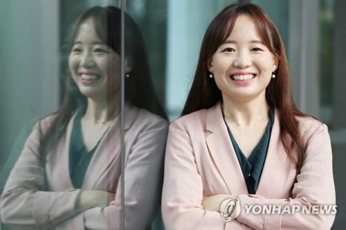 "This file photo shows Choi Eun-young, author of ""Shoko's Smile"" and ""Someone Harmless to Me."" (Yonhap)"