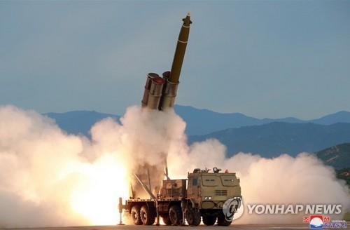 (3rd LD) N. Korea fires short-range projectiles toward East Sea: JCS
