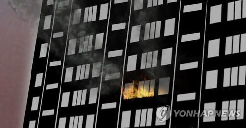 (2nd LD) Married couple dead in apartment building fire in Gwangju: officials