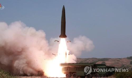 (4th LD) N. Korea presumed to have fired 1 SLBM-type missile: JCS