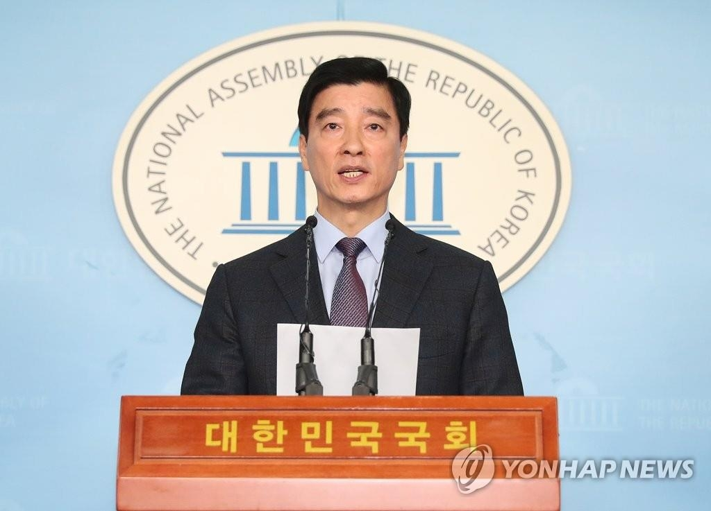 Lee Hae-sik, spokesman for the ruling Democratic Party, in a file photo (Yonhap)
