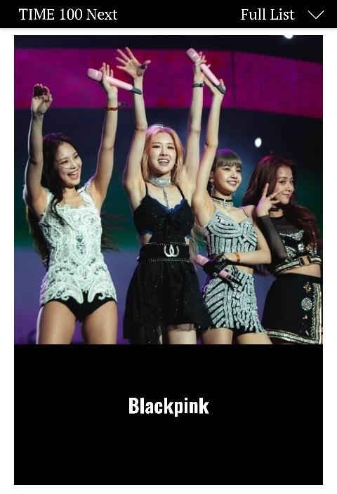This image of BLACKPINK was provided by YG Entertainment. (PHOTO NOT FOR SALE) (Yonhap)