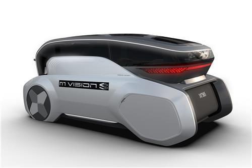 This file photo provided by Hyundai Mobis shows the fully autonomous M.Vision S concept that will be unveiled at CES in Las Vegas this month. (PHOTO NOT FOR SALE) (Yonhap)