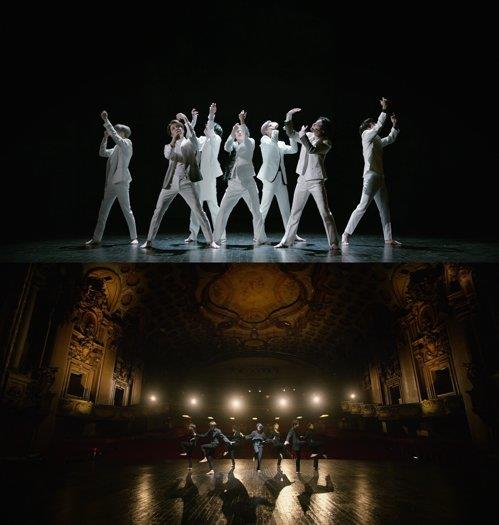 "Images from the video for BTS' ""Black Swan,"" provided by Big Hit Entertainment (PHOTO NOT FOR SALE) (Yonhap)"