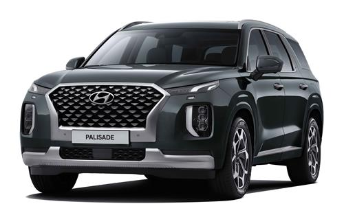 This file photo provided by Hyundai Motor shows the Palisade SUV. (PHOTO NOT FOR SALE)(Yonhap)