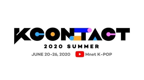 A promotional image of KCON:TACT 2020 Summer, a weeklong online K-pop festival, provided by organizer CJ ENM on May 14, 2020 (PHOTO NOT FOR SALE) (Yonhap)