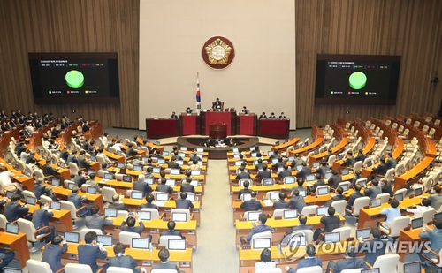 (LEAD) S. Korean assembly approves 3rd virus response extra budget worth 35.1 tln won