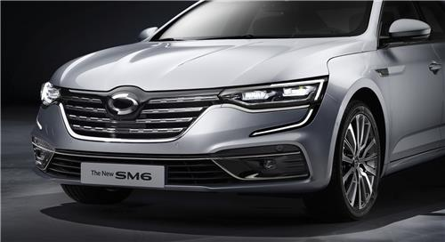Renault Samsung launches upgraded SM6 sedan