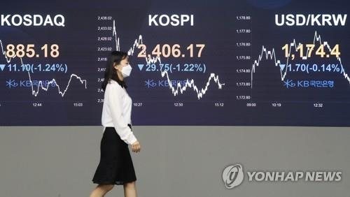 (LEAD) Seoul stocks dip over 1 pct on profit-taking