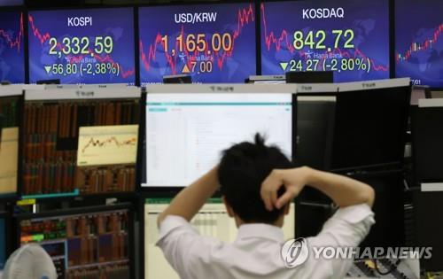 Seoul stocks plunge more than 2 pct on virus fears