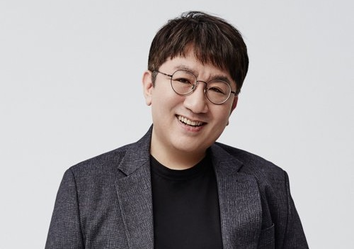 This file photo provided by Big Hit Entertainment on Dec. 5, 2019, shows the management company's CEO, Bang Si-hyuk. (PHOTO NOT FOR SALE) (Yonhap)