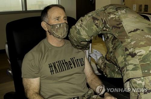 (3rd LD) S. Korea to allow troops, citizens working for USFK to get COVID-19 vaccinations