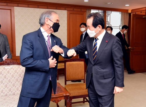Outgoing U.S. envoy meets P.M., expresses hope to play role in advancing alliance