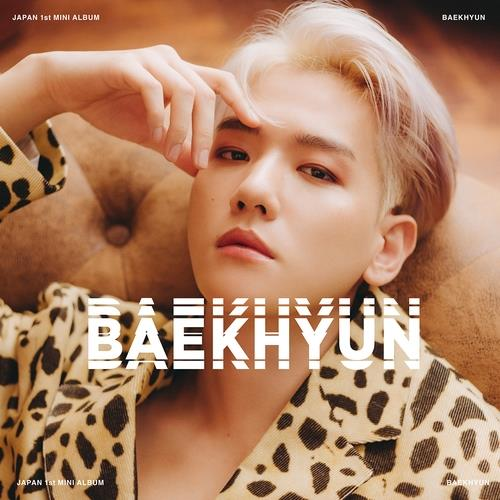 This image, provided by SM Entertainment, shows the cover photo of EXO member Baekhyun's first Japanese solo album to be released on Jan. 20, 2021. (PHOTO NOT FOR SALE) (Yonhap)