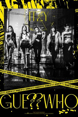 This photo, provided by JYP Entertainment, shows a teaser for K-pop act ITZY's new music set for release on April 30, 2021. (PHOTO NOT FOR SALE) (Yonhap)