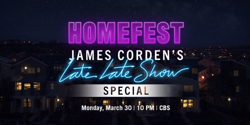 Bande-annonce de l'édition «Homefest: James Corden's Late Late Show Special» (Photo fournie par CBS)