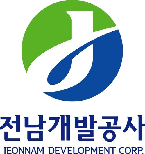 전남개발공사 로고