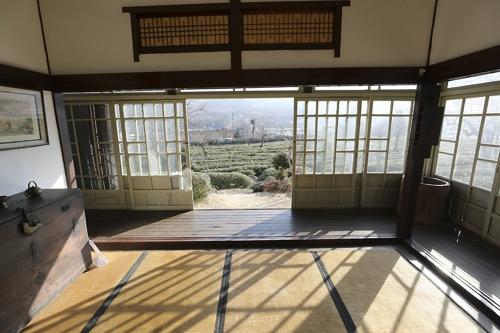 적산가옥을 활용한 악양면의 매암차문화박물관 [사진/성연재 기자]