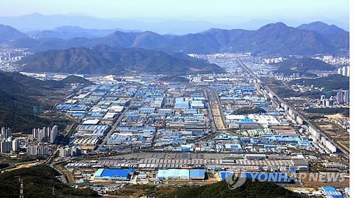 경남 제조업 근간 창원국가산업단지 전경