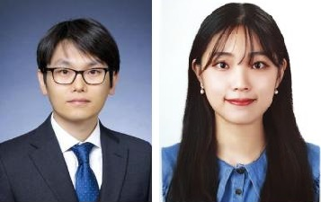 성균관대 전자전기공학부 박진홍 교수(왼쪽), 이 학과 4학년 임지혜 학생