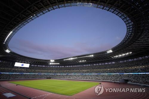 2020도쿄올림픽·패럴림픽 주경기장으로 사용될 일본 국립경기장 전경 [epa=연합뉴스 자료사진]
