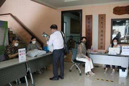 작년 11월 인니 한인회·대사관 마스크 22만장 공동구매 배포