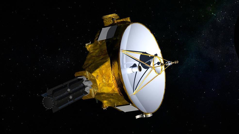 태양계 끝의 뉴 호라이즌은 지구에서 태양까지 '이정표'의 50 배를 통과합니다.
