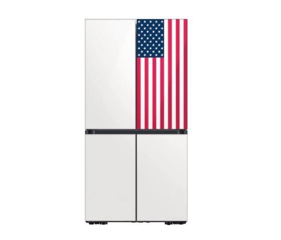 삼성전자 비스포크 냉장고 성조기 에디션