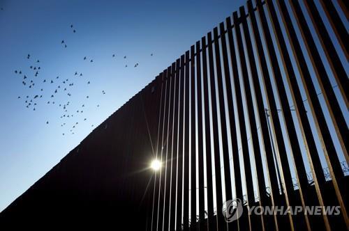 미국·멕시코 국경 장벽[EPA=연합뉴스 자료사진]