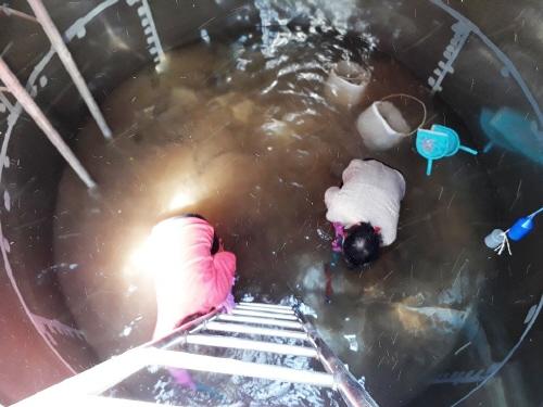 구례군, 소규모 수도시설 물탱크 청소 지원 - 1